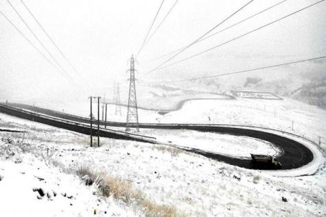 تمام راههای استان مرکزی از برف پاکسازی شدند
