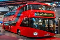عکس| اتوبوس دو طبقه در خیابان های تهران