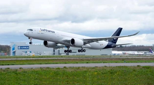Lufthansa Receives 10th Airbus A350-900