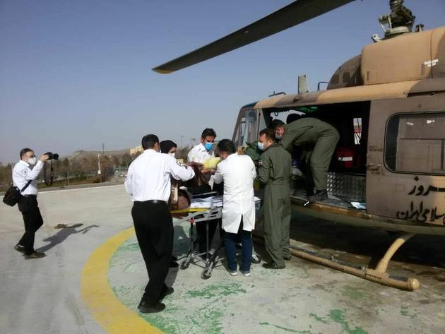 نجات جان 14 هموطن آبیک قزوین در امداد هوایی نزاجا
