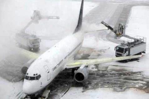 پروازهای فرودگاه ایلام در پی بارش برف لغو شد