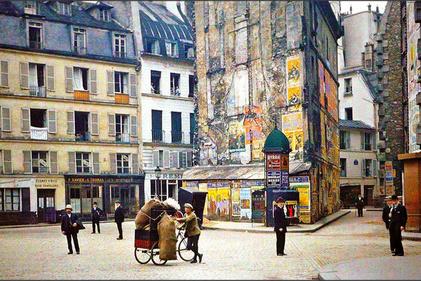 حمل و نقل  120سال پیش در پاریس