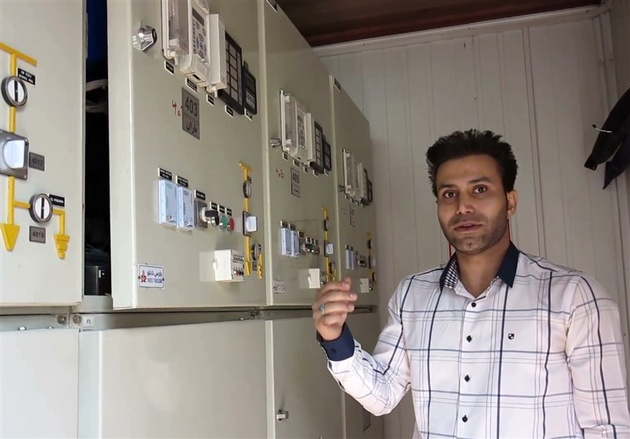 ساخت دستگاه هوشمند اطفای حریق فیدرهای برقی توسط مخترع شیرازی
