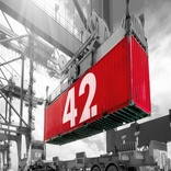 Smart Container 42 begins journey from Port of Rotterdam