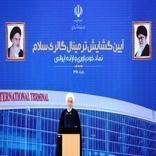 افتتاح ترمینال سلام به منزله مقاومت و مبارزه واقعی با دشمنان پیشرفت ایران است