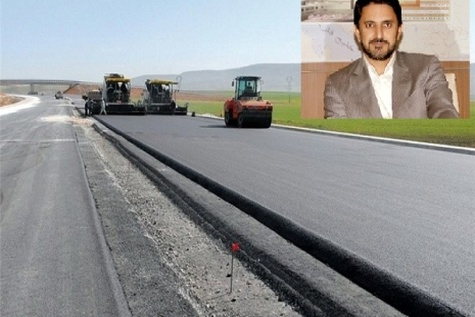 تشریح وضعیت پروژه تعریض جاده ارتباطی شاهین دژ به تکاب