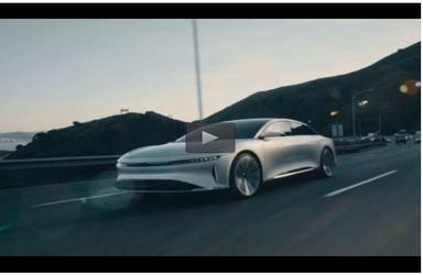 طرح اولیه خودروی خودران با سرعت ۲۳۵ مایل بر ساعت