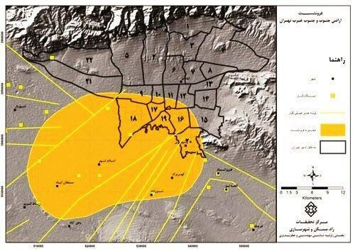 خطر وجود اَبَر گودال در یکی از مناطق بزرگ و پر تردد در تهران
