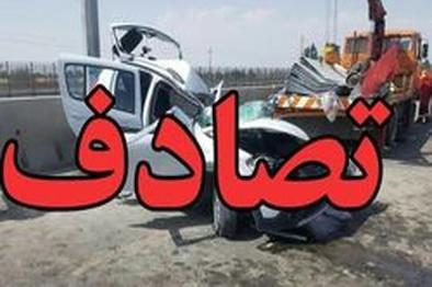 تصادف در جادههای زنجان