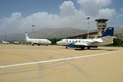 کاهش تعداد پروازها و محدودیت ناوگان در فرودگاه یاسوج