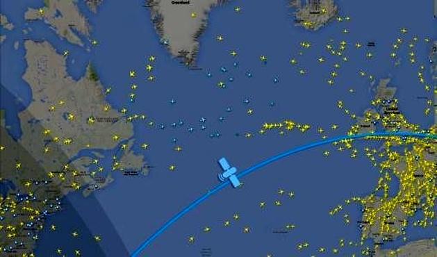 Flightradar۲۴ completes space - based ADS - B flight tracking test
