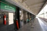 خدمات دهی خط ۵ مترو تهران برای بازی سوپرجام