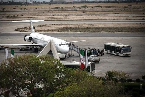 میزبانی فرودگاه کیش از بیش از ۱۰۷ هزار مسافر در آبان امسال