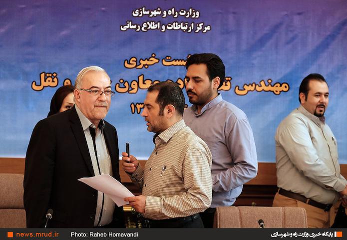 گزارش تصویری/ نشست خبری معاون حملنقل وزیر راه و شهرسازی