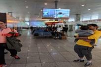 (تصاویر) وضعیت در سالنهای انتظار و ترانزیت فرودگاه امام عادی است