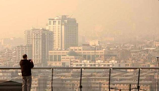 دیماه ۹۹؛ آلودهترین ماه تهران در ۱۰ سال گذشته