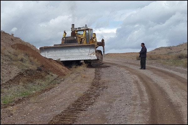 پیشرفت 65 درصدی جاده جدید سنندج - مریوان