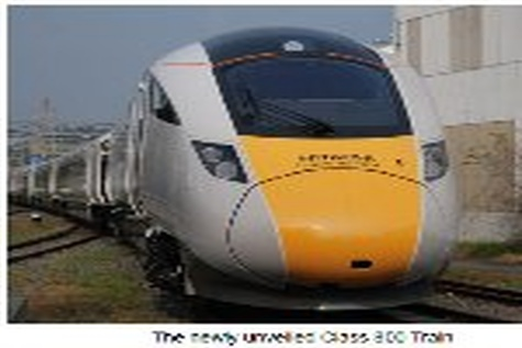 Hitachi begins shipment of Class ۸۰۰ train for UK