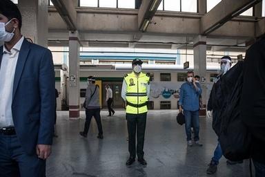 کنترل ماسک زدن مردم در مترو با دستگاههای پردازشگر چهره