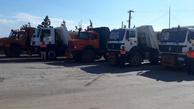 اعزام ۱۰ دستگاه کامیون از قزوین به بندر امام
