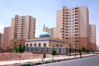 چند نما از خدمات روبنایی در سایت مسکن مهر پرند