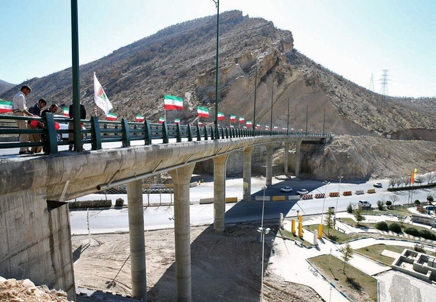 پل زیرگذر ارغوان ایلام تا اربعین بهره برداری میشود