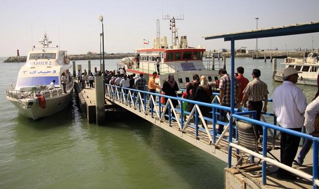 افزایش چهاردرصدی سفرهای دریایی در نوروز امسال