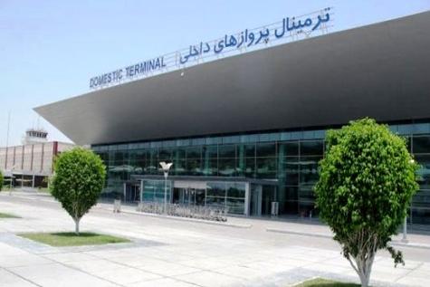 افتتاح گیت بازرسی پلیس ترمینال دو فرودگاه بندرعباس