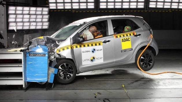 Kia Picanto Scores Zero Stars In Latin NCAP Crash Test