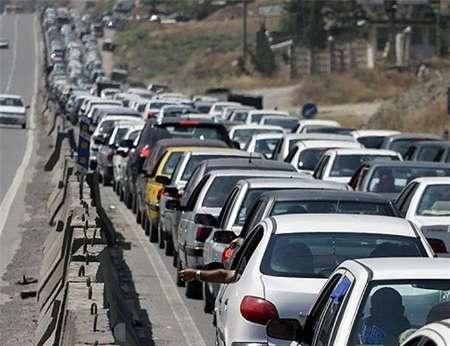 ترافیک جاده های استان کرمانشاه سنگین است