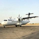 انجام پرواز همدان-تهران با 3 مسافر