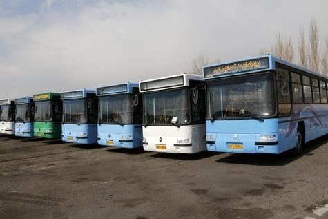 نرخ کرایه خطوط اتوبوسرانی به مقصد مجموعه نمایشگاهی شهر آفتاب