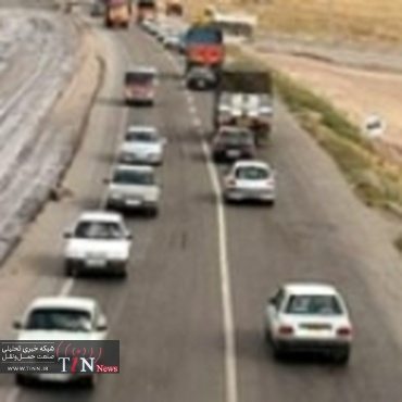 بیش از پنج میلیون وسیله نقلیه در جاده های کرمانشاه تردد کردند