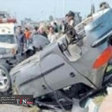 سرعت غیرمجاز و توقف در کنار جاده عامل بیشترین تصادفات