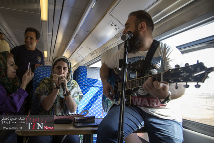 قطار گردشکری تهران-رشت