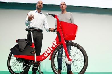 «اوبر» سرویس اشتراک دوچرخههای برقی راهاندازی کرد