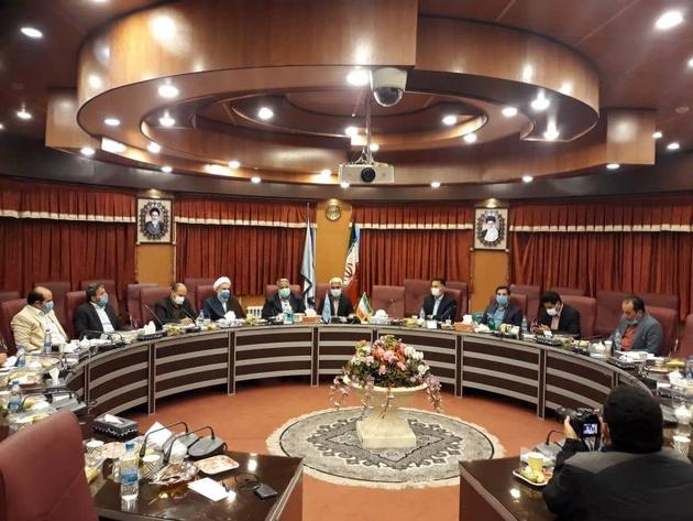 جلسه بررسی و حل مشکلات ثبت اسناد و املاک محمدیه برگزار شد