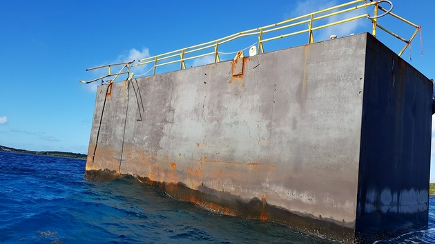 Missing Unlit Dry Dock Turns Up in The Bahamas After More Than a Year at Sea