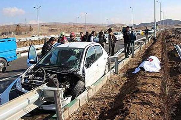 سانحه رانندگی در محور بیجار – تکاب ۴ کشته برجای گذاشت