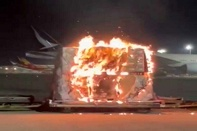 Hong Kong Air Cargo ban on Vivo phones after pallets catch fire at airport