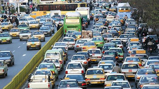 وضعیت ترافیک معابر تهران در روز بیستم فروردینماه