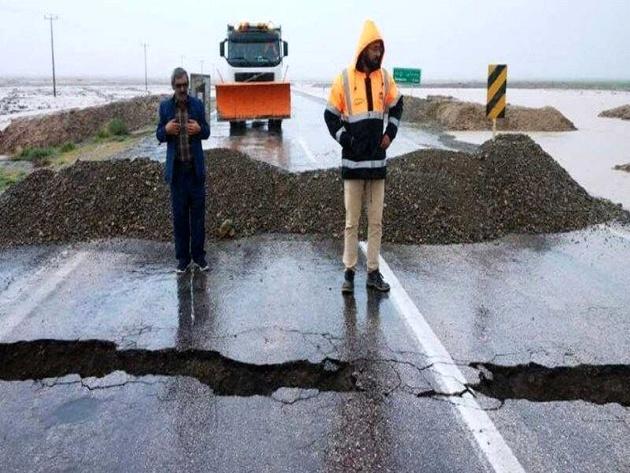 11 جاده روستایی خراسان رضوی بر اثر سیلاب مسدود شد