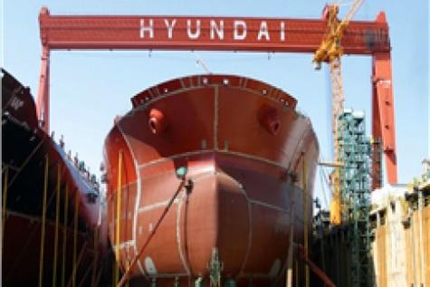 کشتی سازی هیوندایی ۴۰۰ میلیون دلار ضرر کرد