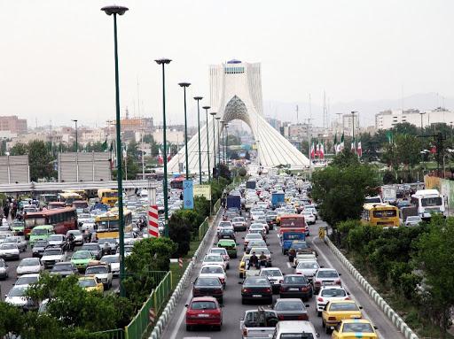 آغاز ترافیک در معابر پایتخت/ حجم ترافیک رو به افزایش است