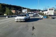 ترافیک سنگین در مسیر برگشت جاده های مازندران به تهران