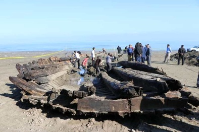 خواناسازی کشتی تاریخی گیلان آغاز شد