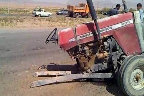 پنج کشته و چهار زخمی در سانحه تصادف در شوش خوزستان