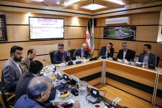 نشست شورای مدیران حملونقلی در شهرداری منطقه 4