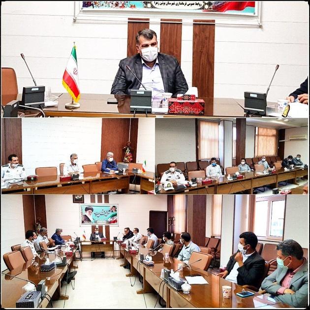 شورای ترافیک شهرستان بوئینزهرا تشکیل جلسه داد
