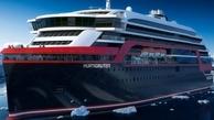 حرکت نخستین کشتی هیبریدی جهان در دریای نروژ + تصاویر